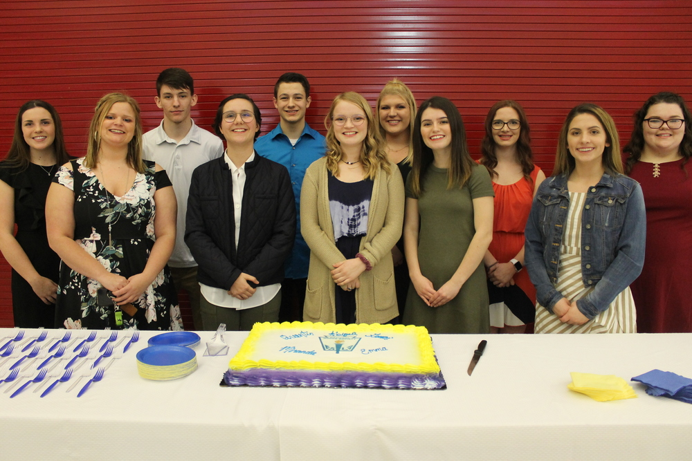 CHS Inducts New NHS Members