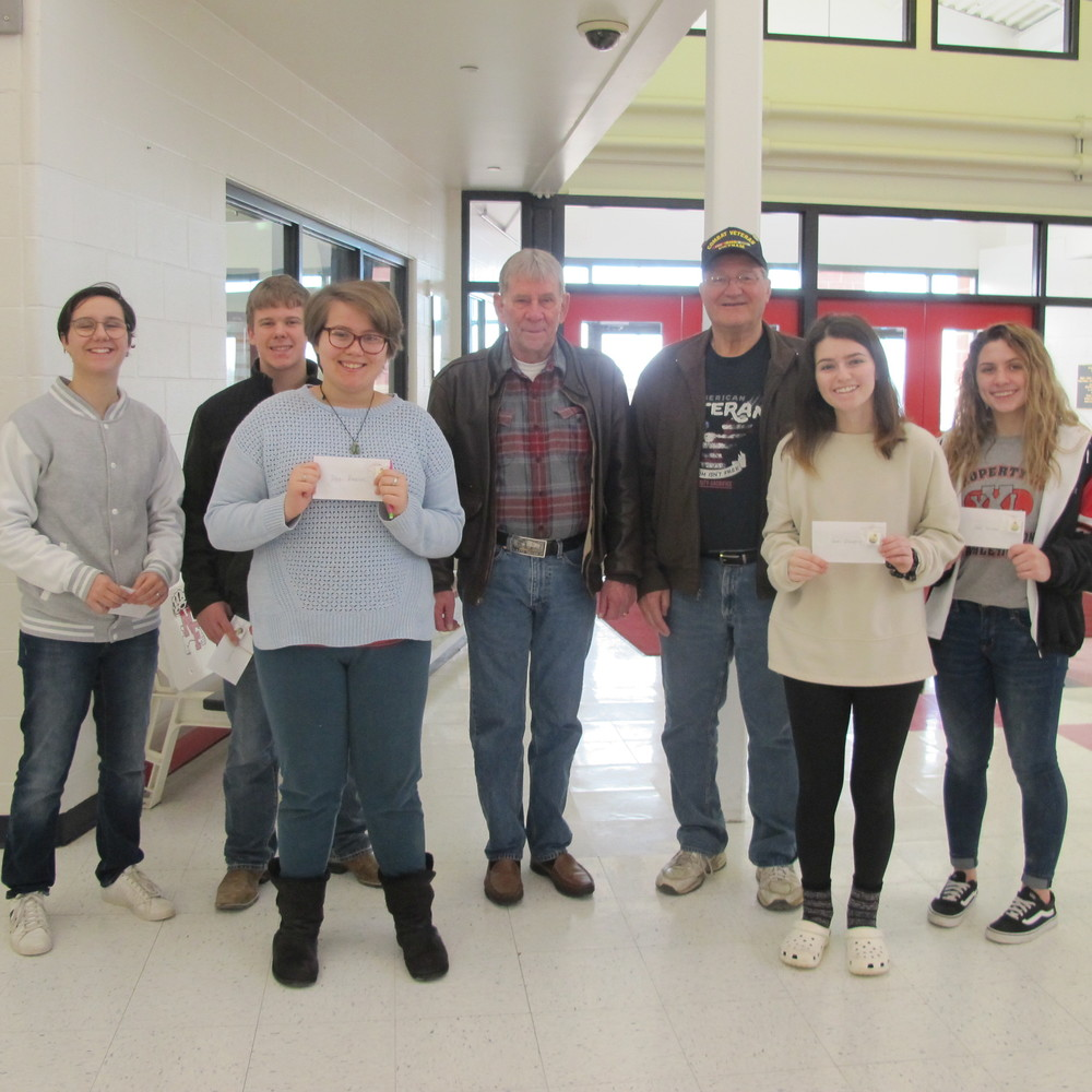 Students Enter VFW Contest