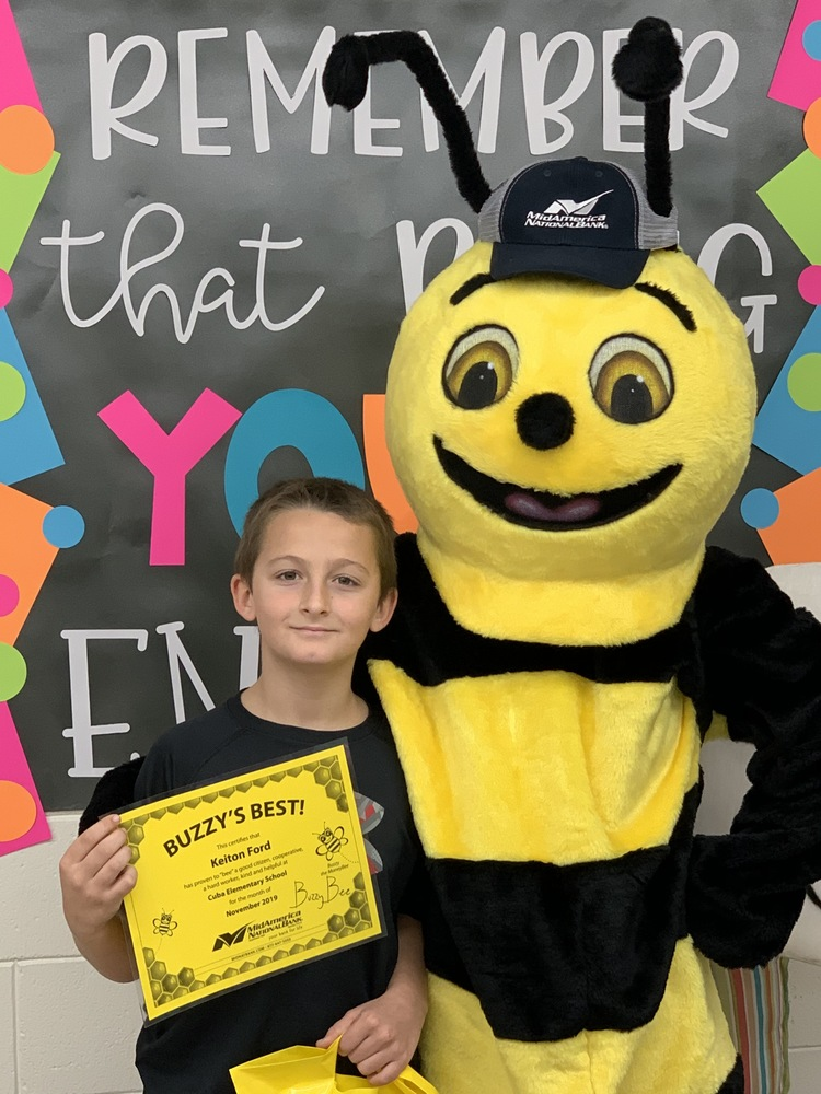 November's Buzzy Best Award