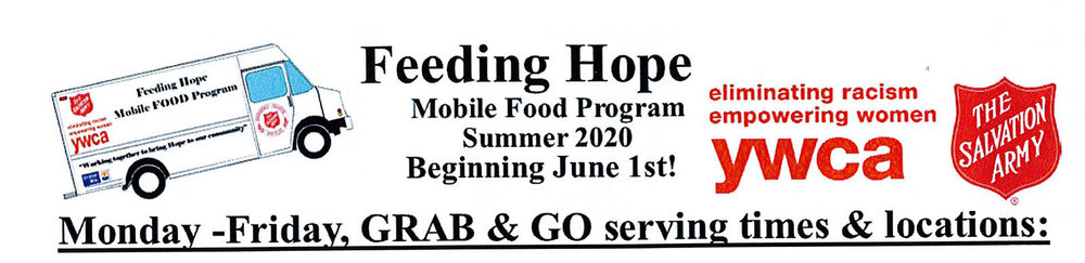 Feeding Hope: Mobile Food Program Summer 2020