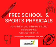 Free School & Sports Physicals
