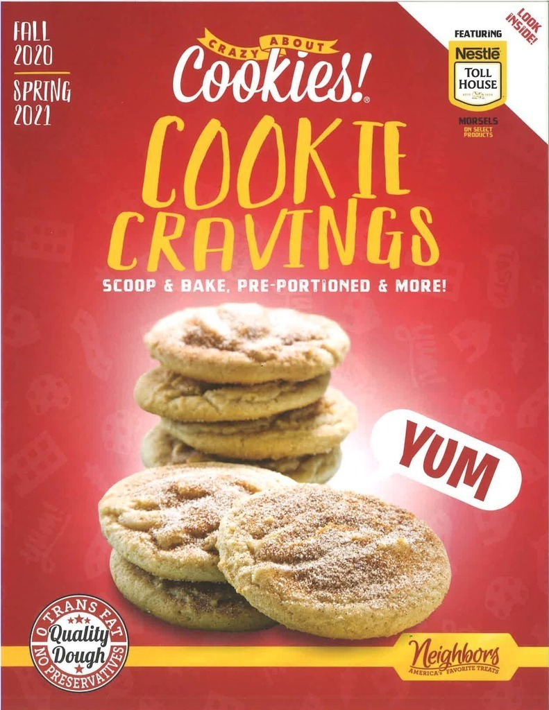 Cookie flyer