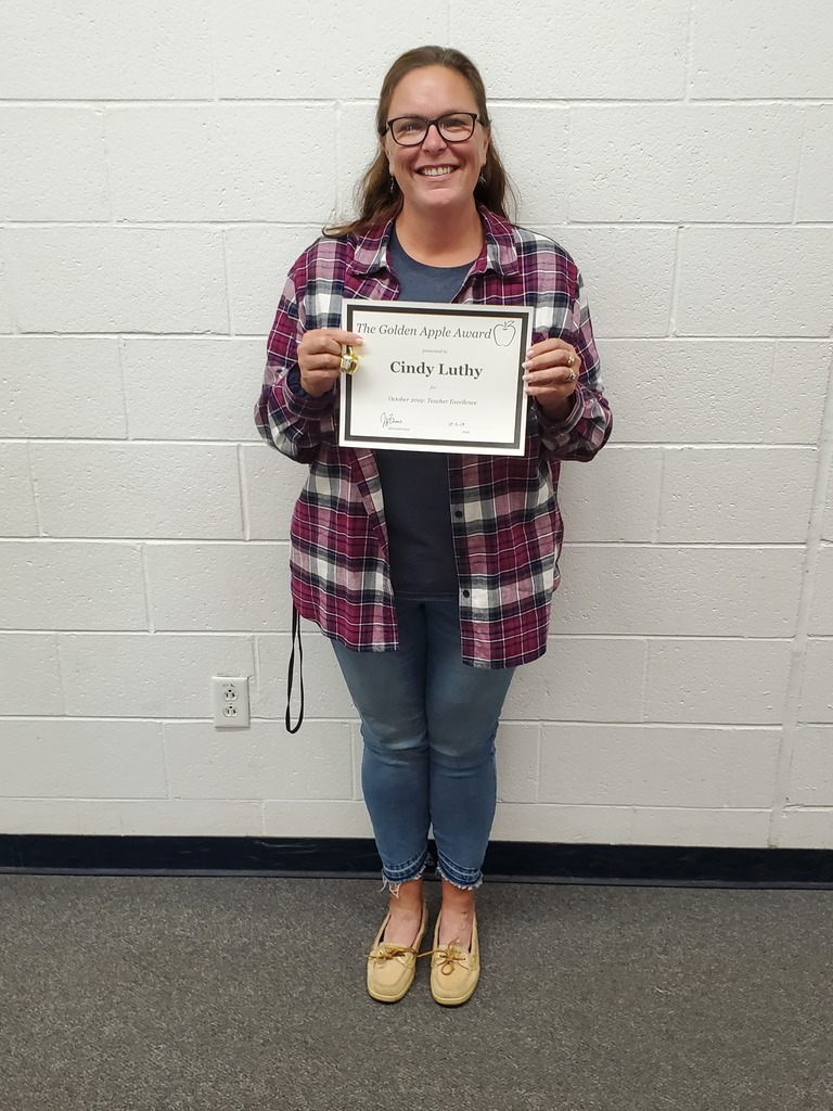 October Golden Apple Winner