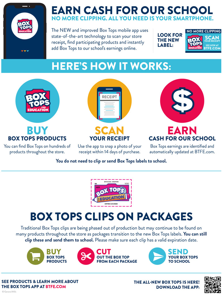 box tops for education flyer