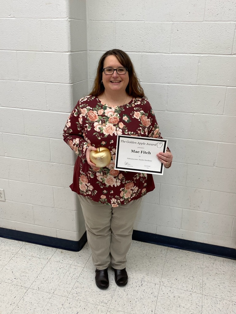 February Golden Apple Winner
