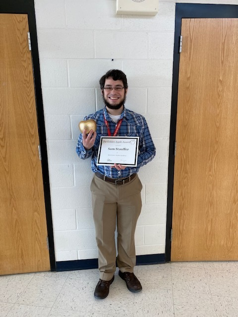 March Golden Apple winner!